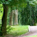 Gehweg im Schlossgraben Burgk Freital