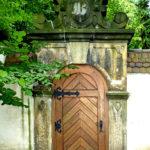 Tür aus dem Schlossgarten Freital