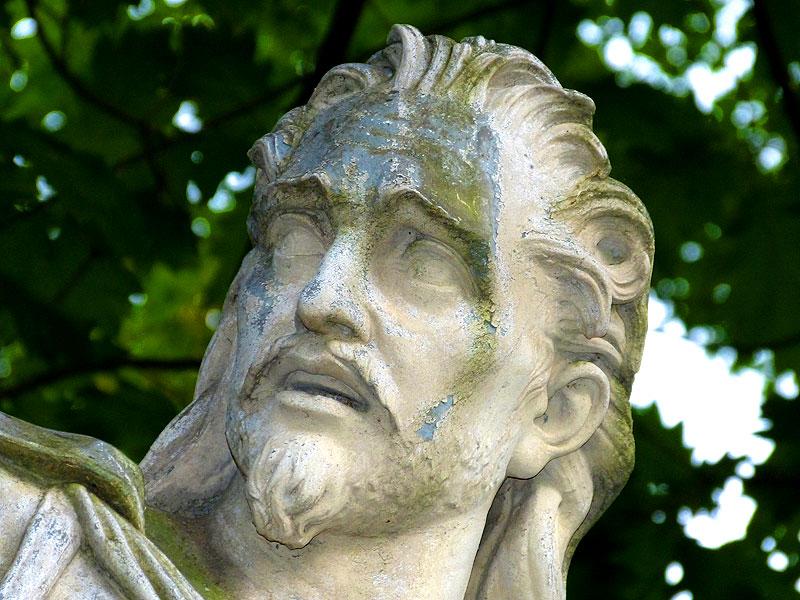 Gesicht in Stein Freital