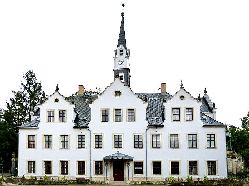 Schloss Burgk von vorn
