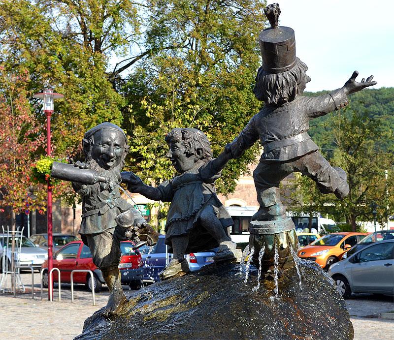 Bild 12: Brunnen in Freital