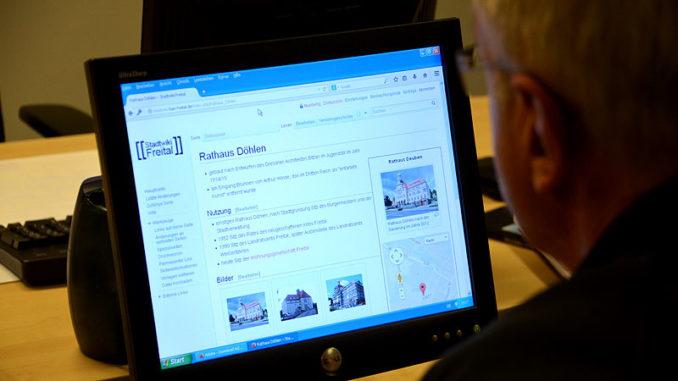 Stadtwiki Freital am PC