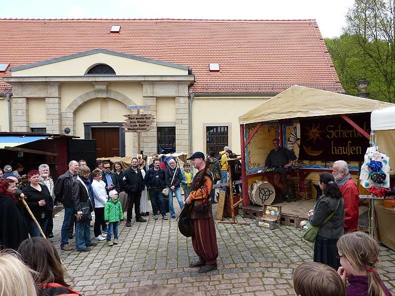 Mittelalterliches Spectaculum auf Schloß Burgk in Freital Bild 1