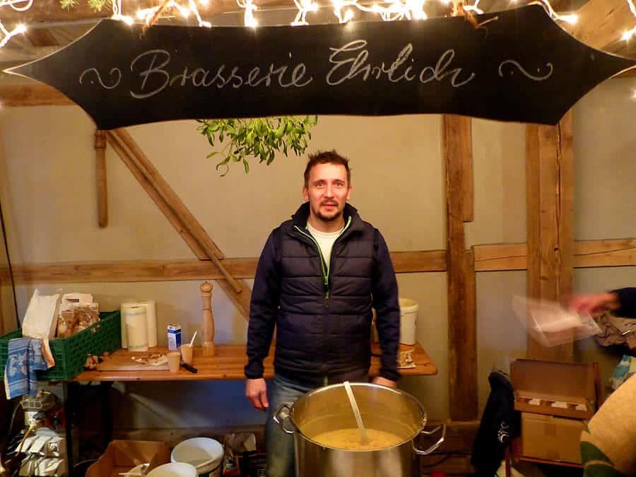 Brasserie Ehrlich in der Wurgwitzer Scheune