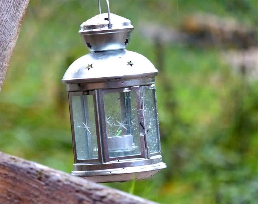 Die Lampe für den Heimweg :-)