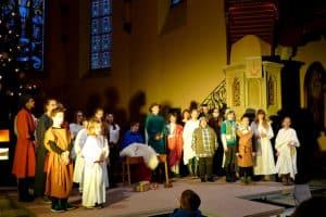 Krippenspiel in der Christuskirche Freital Deuben