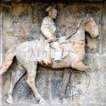Reiter auf dem Pferd
