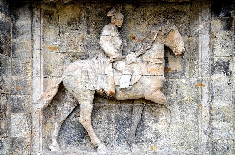 Reiterstandbild des Königs Albert von Sachsen
