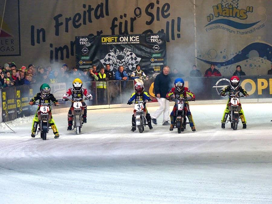 Icespeedway Rennen Freital