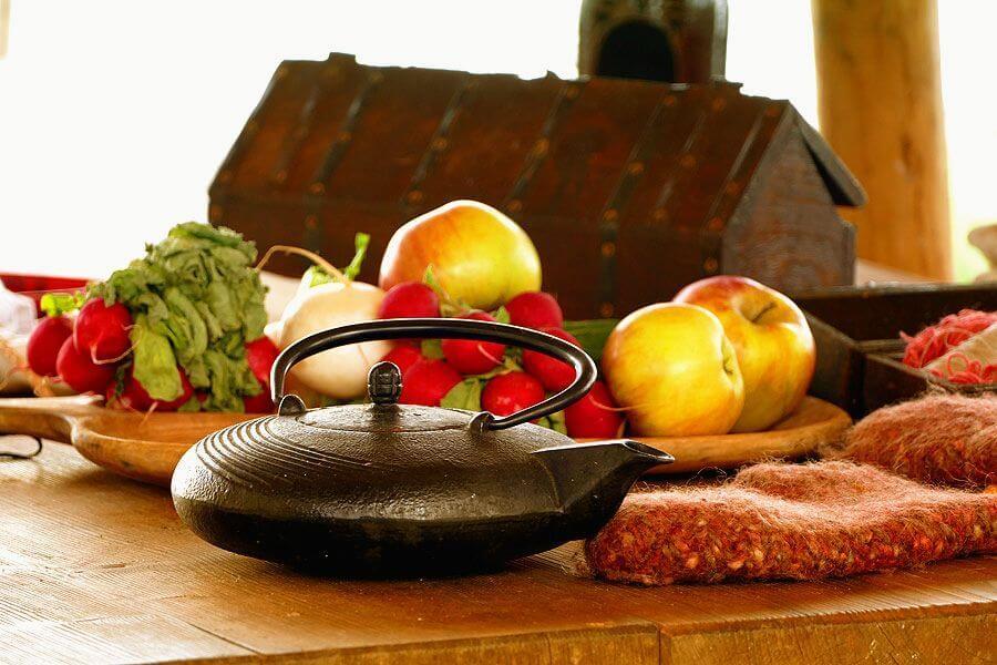 Mittelalter Frühstück