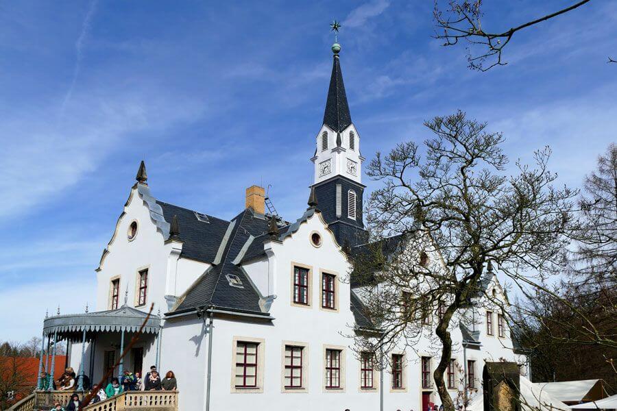 Schloss Burgk von der Seite