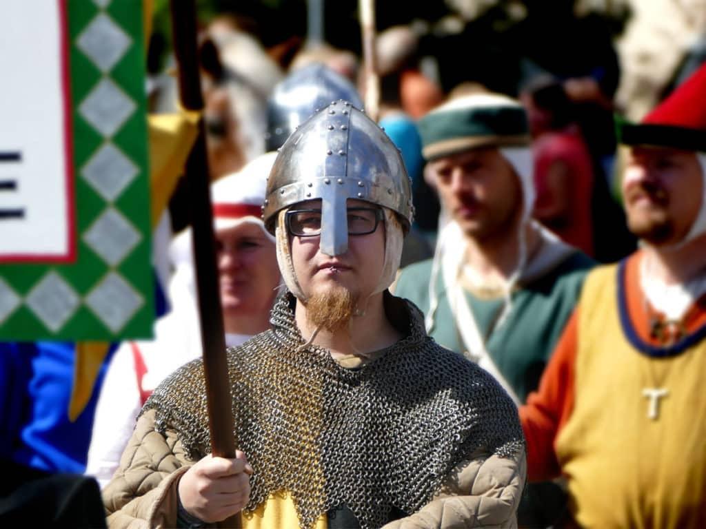 Ritter Mittelalter Festumzug Tharandt