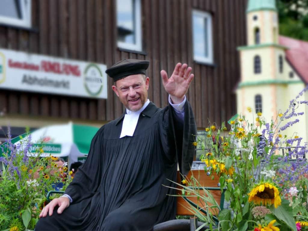 Pfarrer Festumzug Tharandt