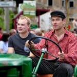 Traktor fahren Festumzug Tharandt