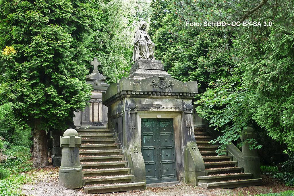 Bergmannsgrab Friedhof Döhlen Freital