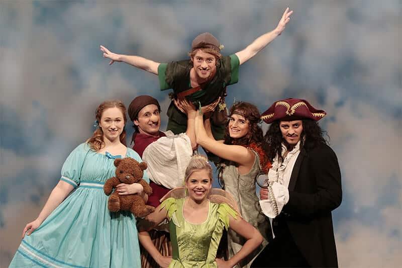 Sasha Bornemann als Peter Pan