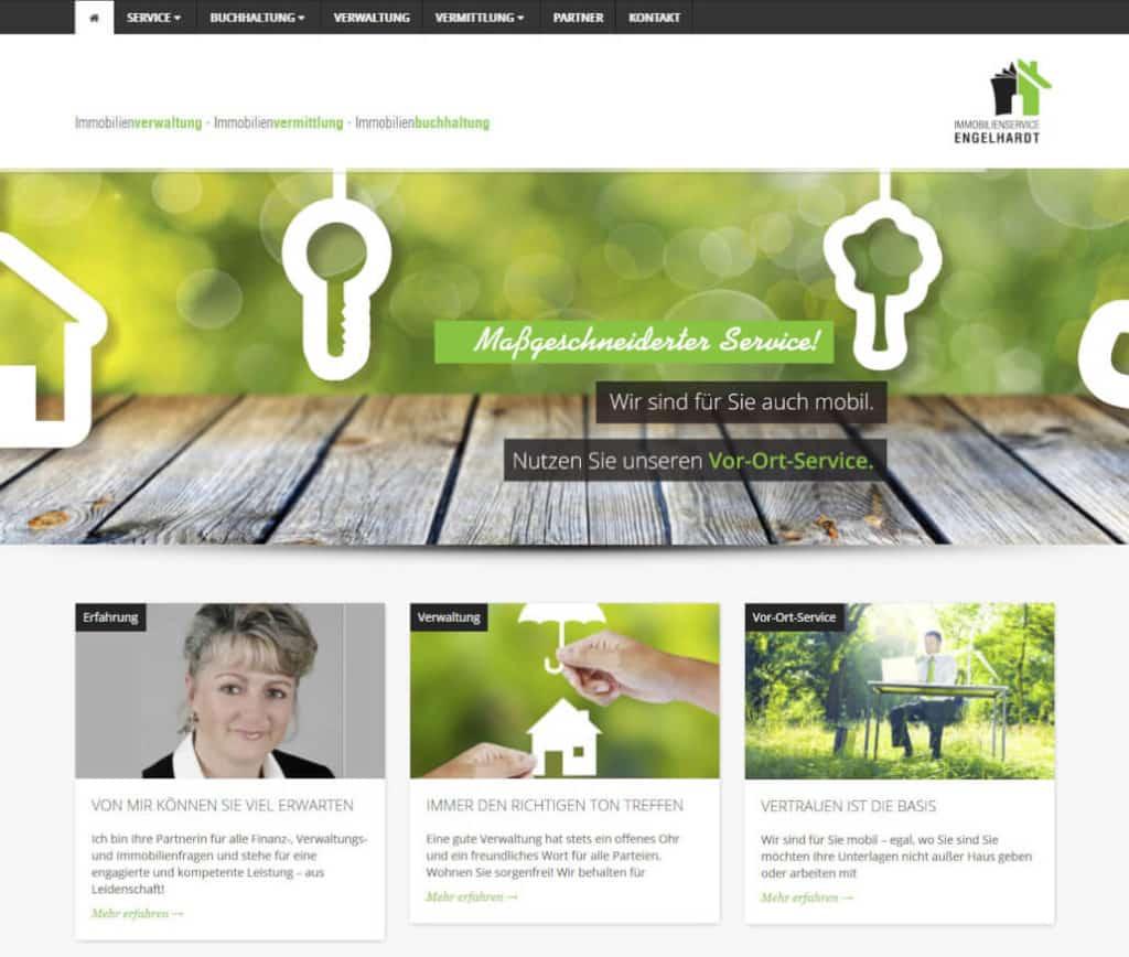 Webseite von Frau Engelhardt