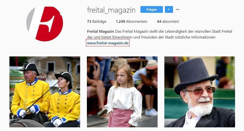 Instagram Freital Magazin