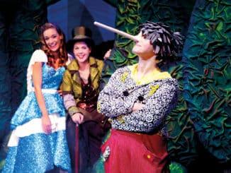 Pinocchio kommt nach Freital