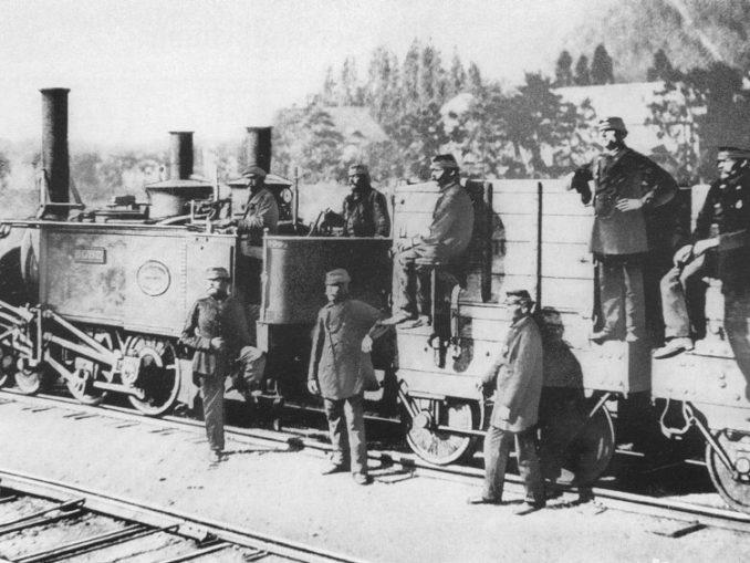 Kohlezug 1867