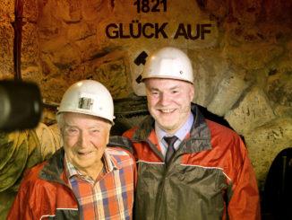 Besucherbergwerk Freital Burgk Wiedereröffnung (Rumberg / Zimmermann)