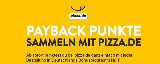 Screenshot: pizza.de