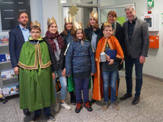 Sternsinger im Rathaus Potschappel