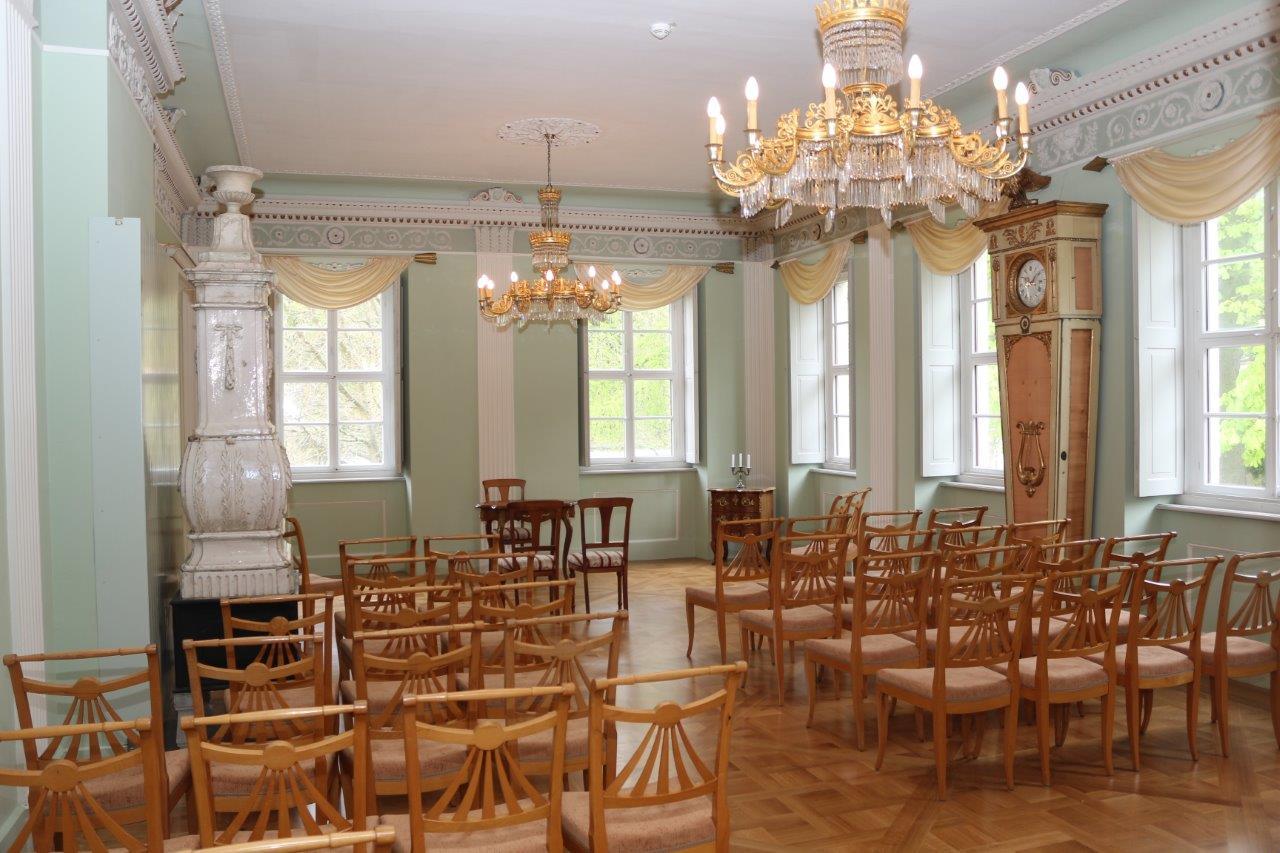 Festsaal auf Schloss Burgk