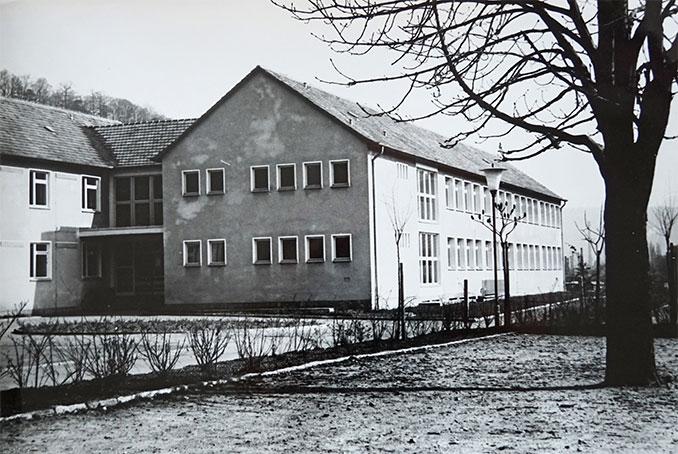 """50 Jahre Grundschule """"Geschwister Scholl"""" in Freital-Hainsberg im Jahre 1969"""