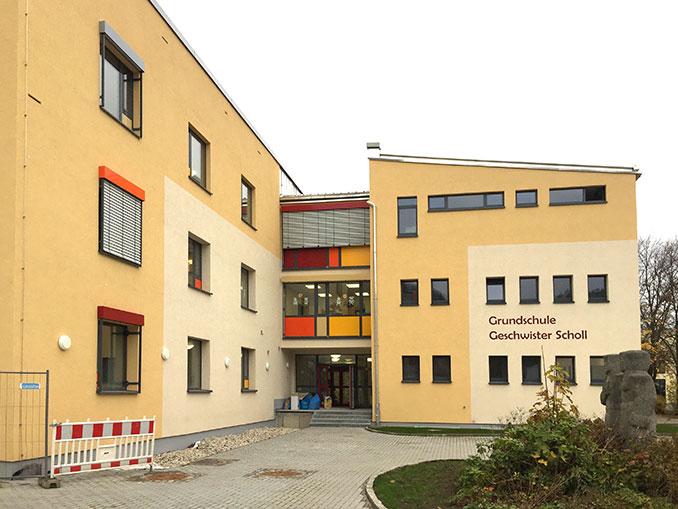 """Grundschule """"Geschwister Scholl"""" in Freital-Hainsberg heute / Quelle: Stadt Freital"""""""