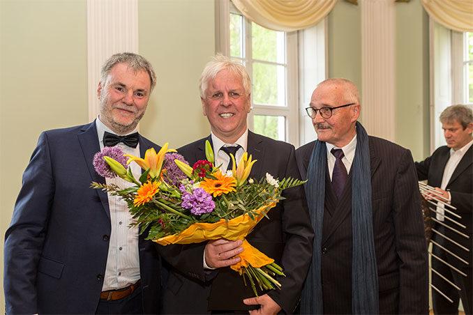 Freital: Kultur- und Kunstpreis an Rolf Günther verliehen