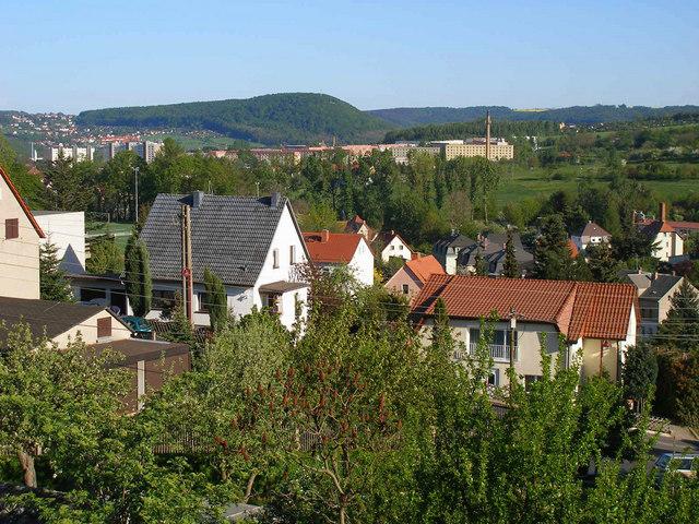 Freital-Wurgwitz (Schafberg), Blick zum Windberg