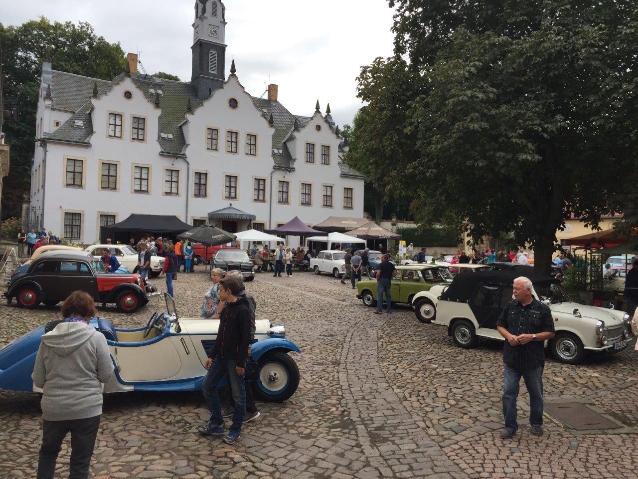 Windbergfest_Oldtimer auf Schloss Burgk