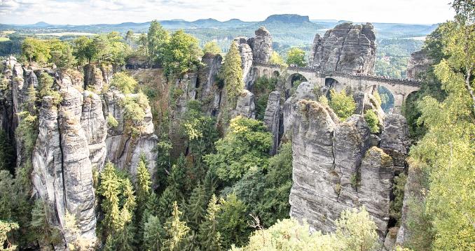 Gebirge in Sachsen