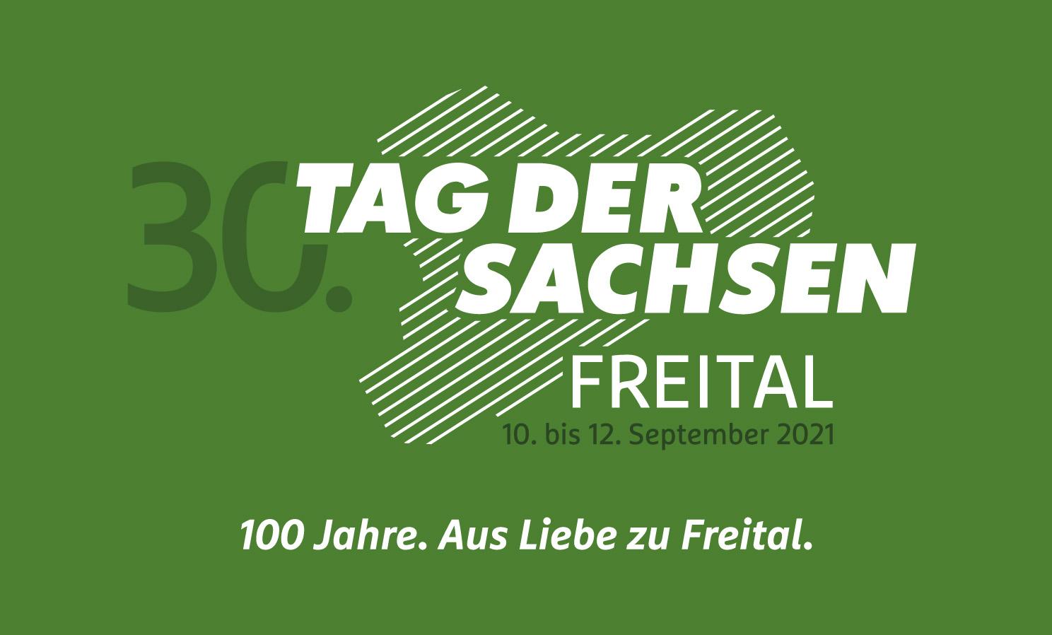 """Motto für """"Tag der Sachsen"""" 2021 in Freital"""