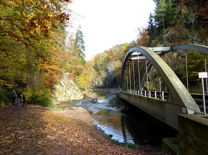 Eisenbahnbrücke im Rabenauer Grund