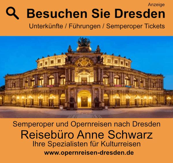 Dresden mit Semperoper besuchen