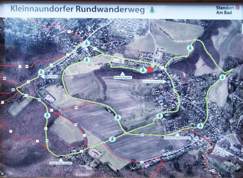 Kleinnaundorf Rundwanderweg