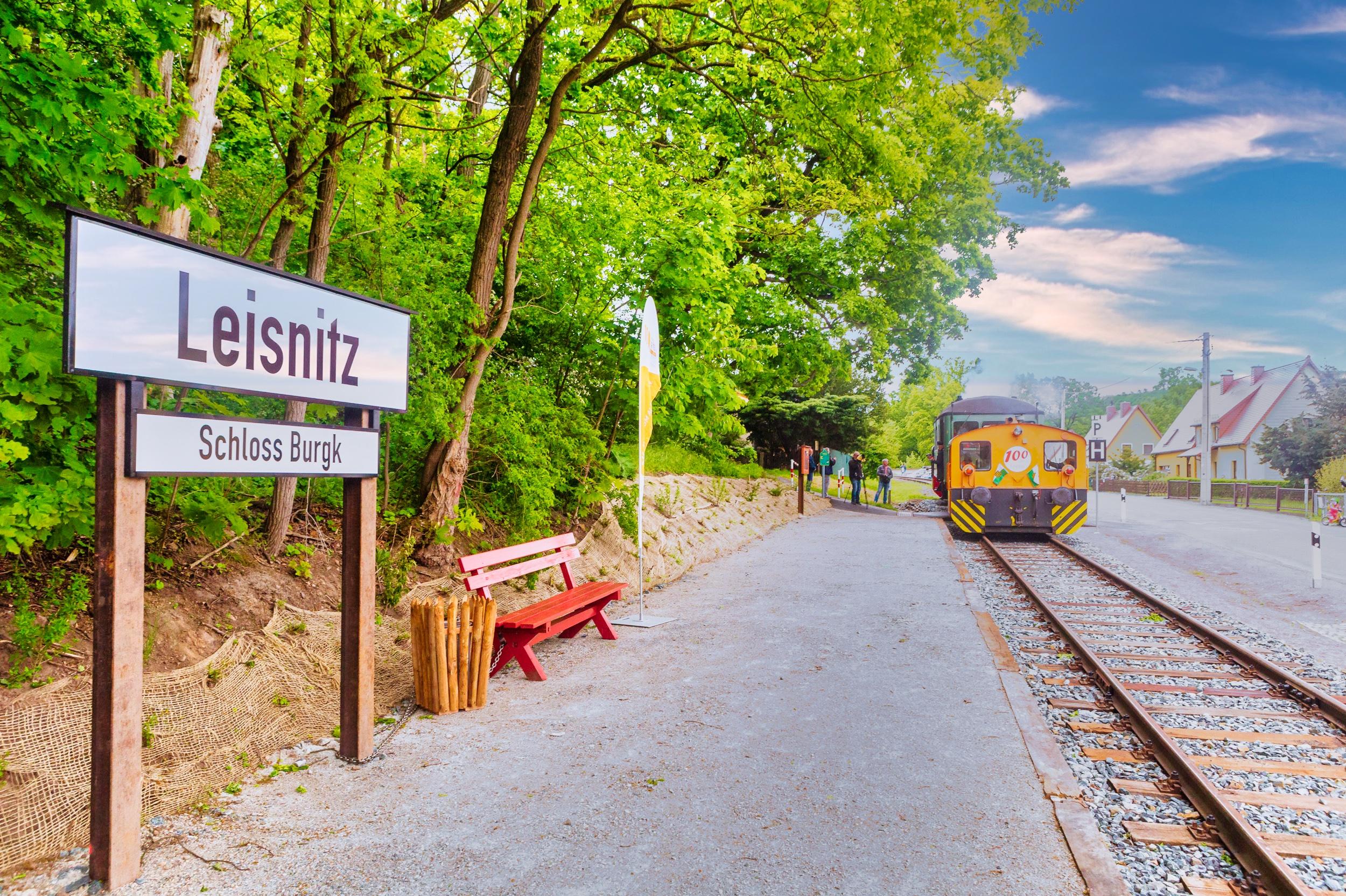 "Haltepunkt ""Leisnitz – Schloss Burgk"""